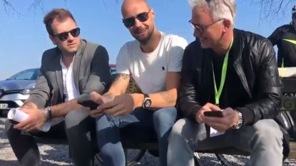VIDEO. 'HLN on Tour': vijfvoudig winnaar Tom Boonen neemt collega-analisten Marc Degryse en Niels Albert mee naar de E3