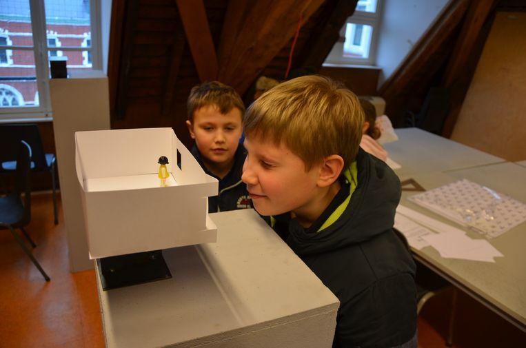 De eerste Gentse editie van de Kinderuniversiteit van KU Leuven was een succes.