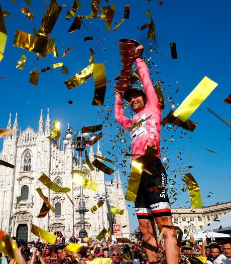 'Giro d'Italia start in 2018 in Israël'