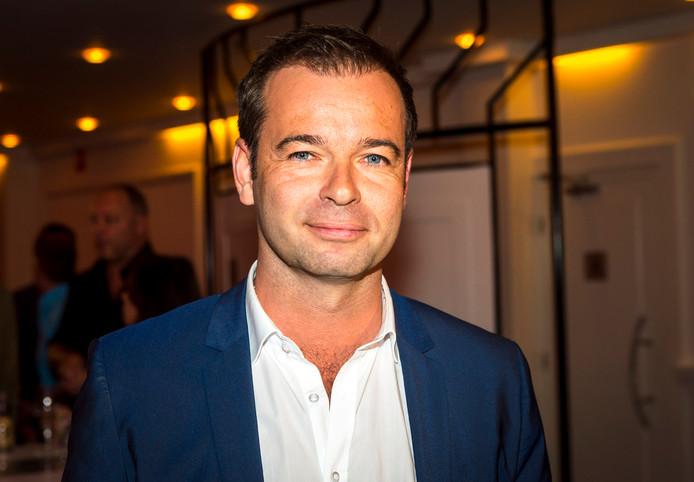 Peter van der Vorst, royaltykenner van RTL Boulevard, tijdens de RTL seizoenspresentatie.