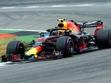 Verstappen op tweede startrij in Duitsland, pole voor Vettel