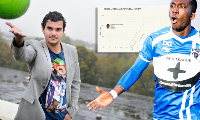 Giels Brouwer en de statistieken van SV Eupen-talent Henry Onyekuru.