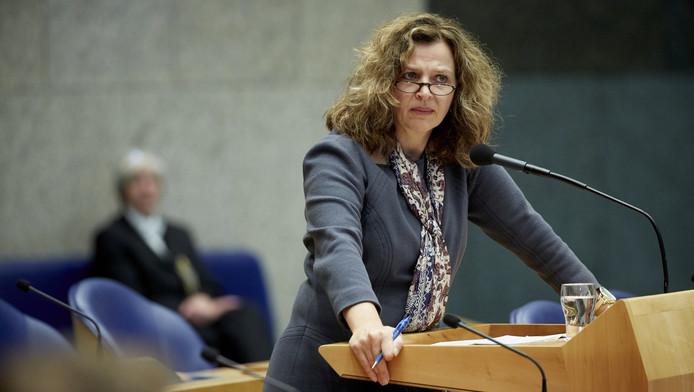 Minister Edith Schippers van Volksgezondheid, welzijn en sport