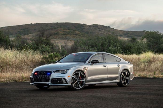 De gepantserde  Audi RS7.