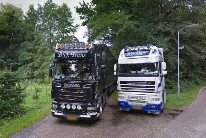 Vrachtwagen van BSJ-Trans uit Harderwijk
