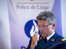 Christian Beaupère, chef de corps de la police de Liège, soutient les actions des agents