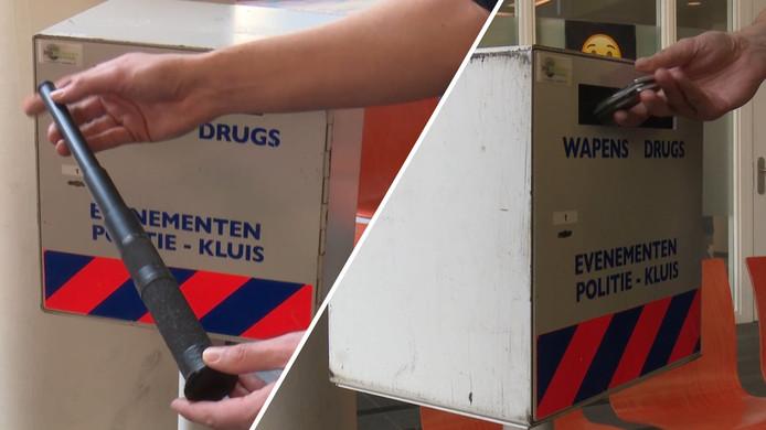 In Rotterdam werd vorige maand al een wapeninleveractie georganiseerd