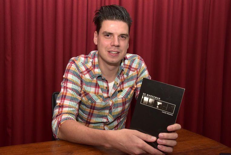 Sander Verheijen staat vandaag met zijn boek De Margeman op de Boekenbeurs.
