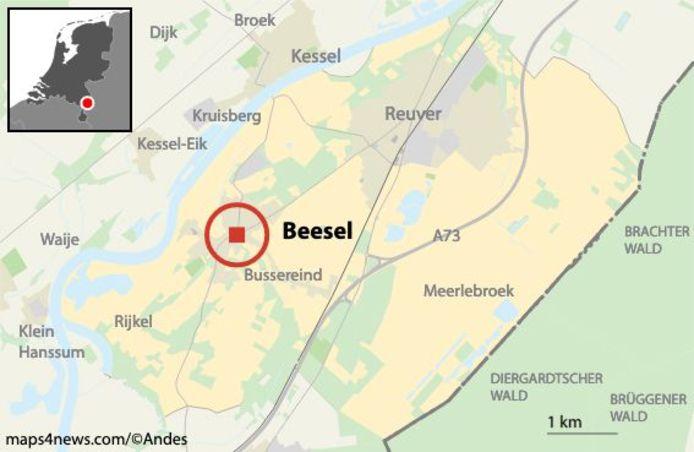 Politie start zoekactie aan de Kerstenbergweg in Beesel naar de sinds 1975 vermiste Marjo Winkens