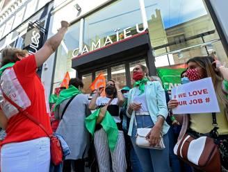 Personeel Belgische Camaïeu-winkels staakt