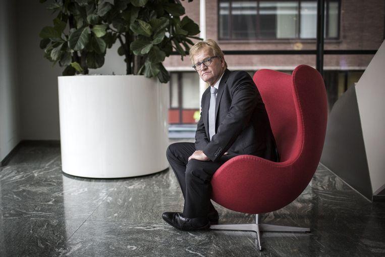 VNCO-NCW-topman Hans de Boer: 'Ik ben een rechtse marxist.' Beeld Julius Schrank