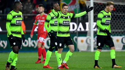 Herbeleef hoe KV Oostende en AA Gent sneuvelden in de kwartfinales van de Croky Cup - Standard en KV Kortrijk bij laatste vier