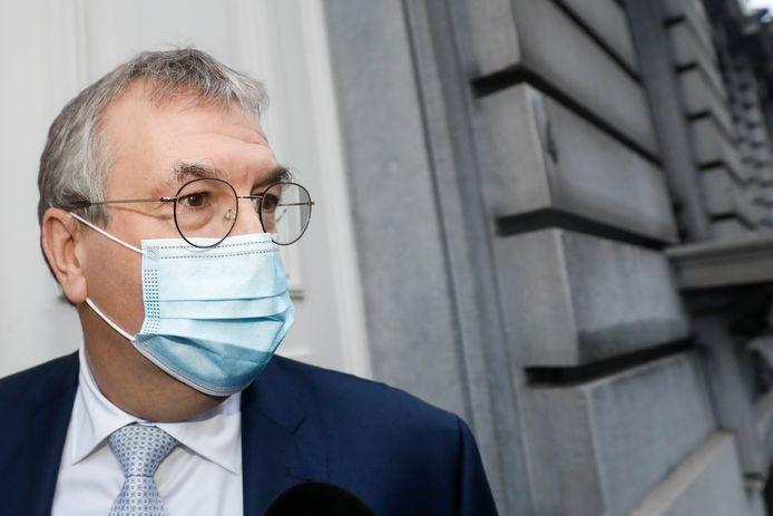Le ministre-président de la Fédération Wallonie-Bruxelles, Pierre-Yves Jeholet (MR).