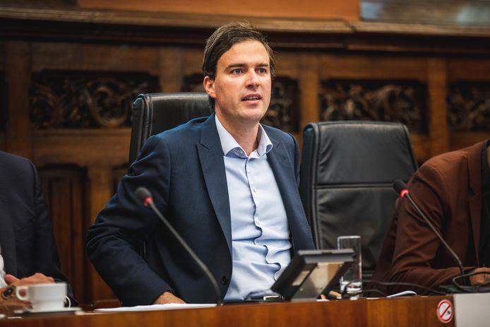 Burgemeester Mathias De Clercq, volgens Zuhal Demir 'haatsmurf'