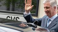 Koning Filip steunt klimaatbeweging met elektrische wagen van 110.000 euro