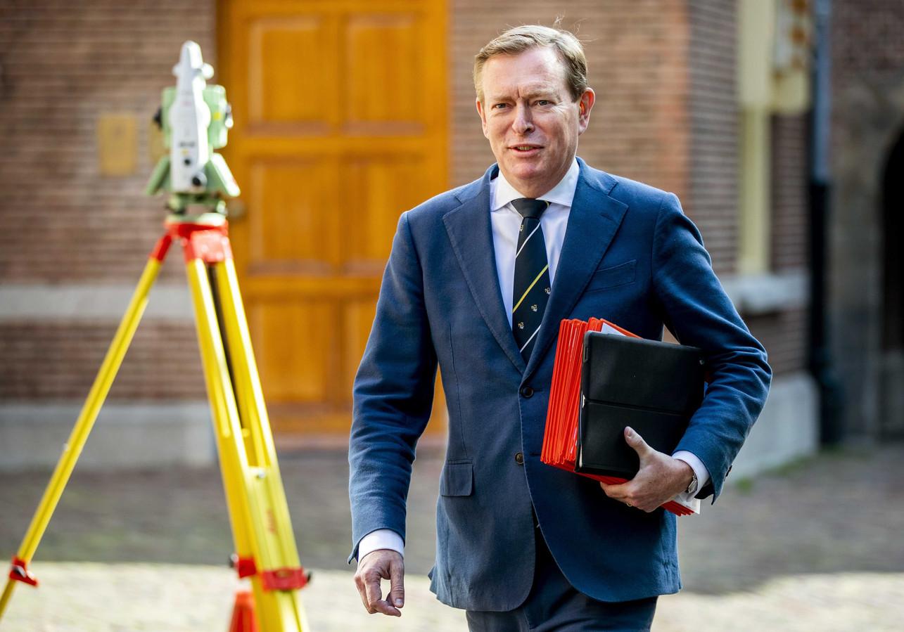 Bruno Bruins (VVD), minister van Medische Zorg.