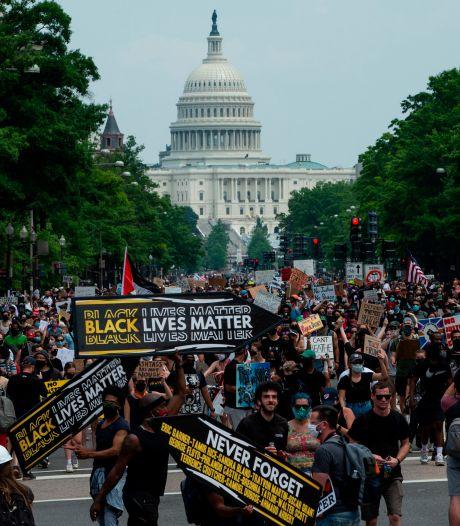 Washington maakt zich op voor grootste betoging tegen racisme en politiegeweld na dood Floyd
