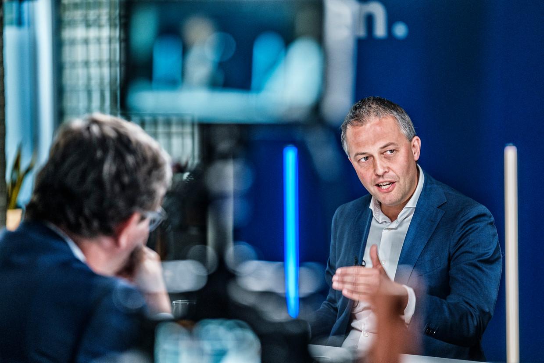 Egbert Lachaert (rechts) volgt Gwendolyn Rutten op aan het hoofd van de Vlaamse liberalen.