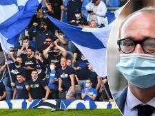 Ben Weyts sanctionne Genk en diminuant la capacité d'accueil du stade contre Ostende