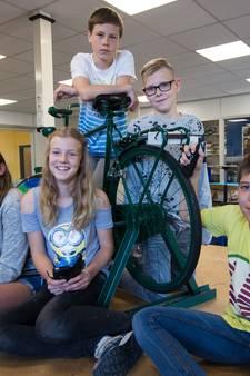 Hardenbergse vakkanjers bedenken de fietspowerbank