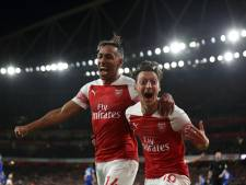 Arsenal swingt na rust voorbij Leicester City