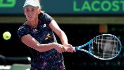 Elise Mertens bereikt halve finales in dubbelspel in Miami - Ostapenko bij laatste vier in enkelspel