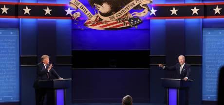 """""""Clown"""", """"ferme-la"""", """"rien d'intelligent"""": le premier débat entre Trump et Biden tourne au pugilat"""