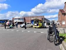 Handbike en auto botsen in Bunnik