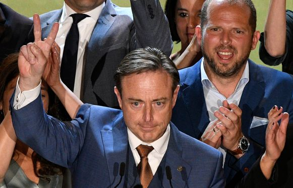 Bart De Wever en Theo Francken op 26 mei.