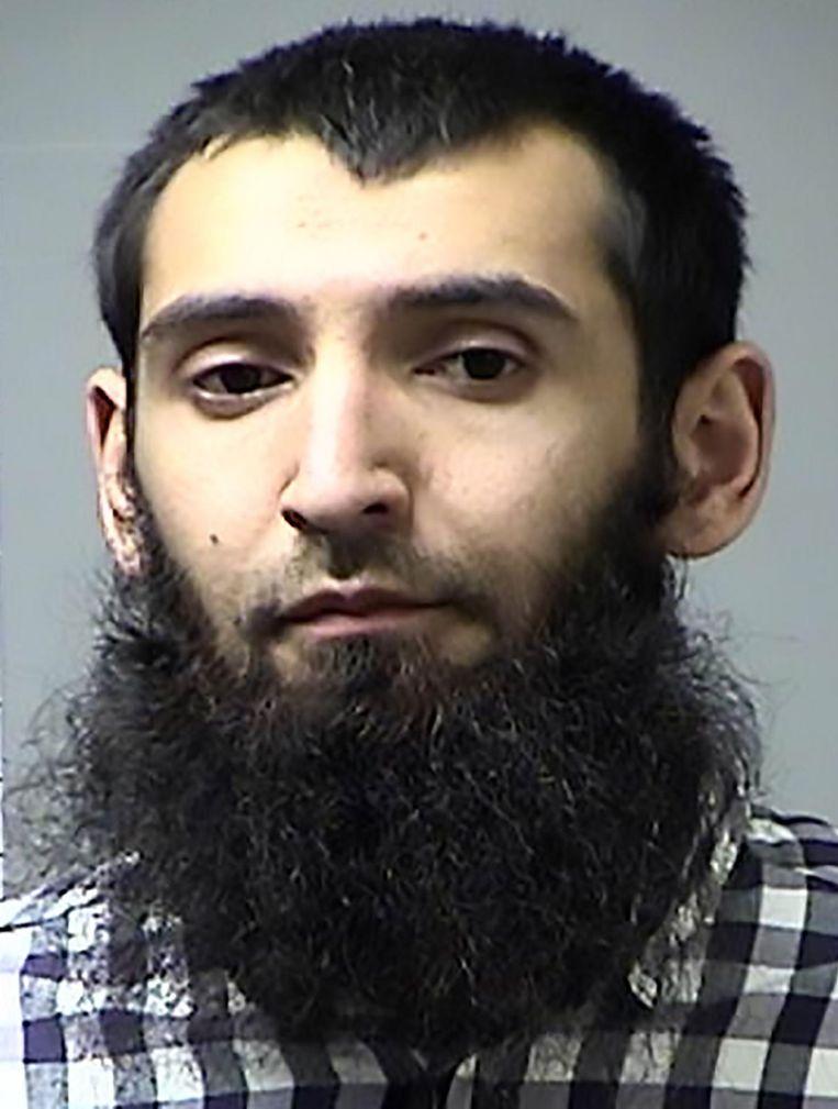 Sayfullo Saipov (New York). Beeld AFP