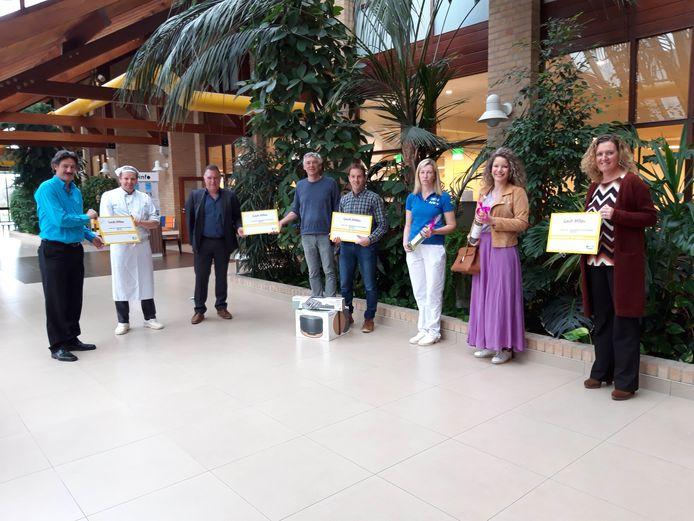 Overhandiging award Gault&Millau aan Ter Duinen Nieuwpoort
