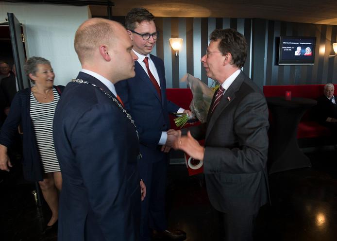 Joris Bengevoord (links) en Clemens Cornielje.