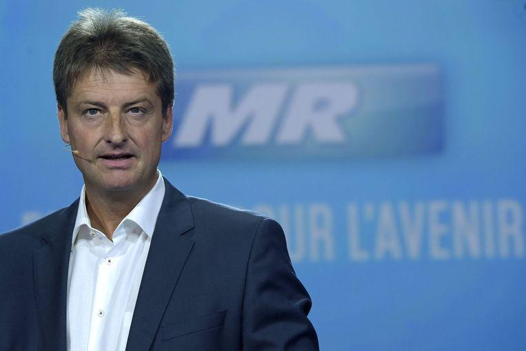 MR-voorzitter Olivier Chastel