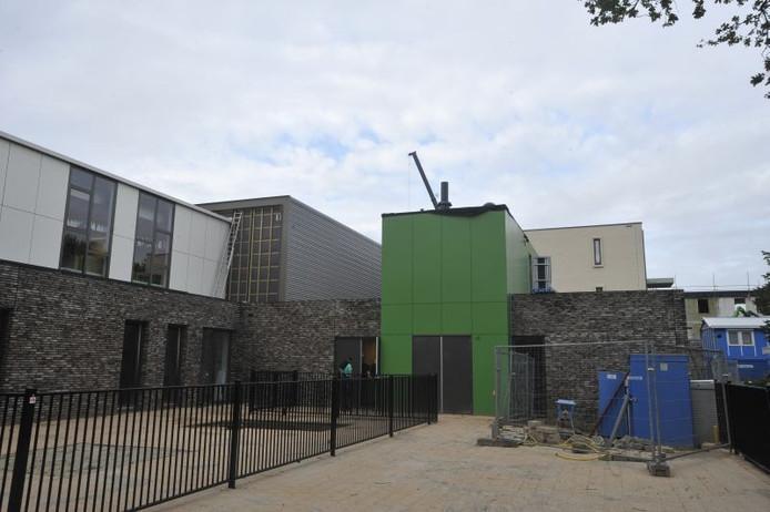 De nieuwe sporthal in Goirle. Foto Marie-Thérèse Kierkels/PVE