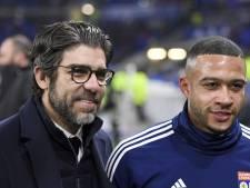 Lyon hoorde niets van Barça: 'Ook geen vraag naar het prijskaartje van Memphis'
