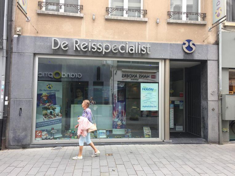 Het filiaal van De Reisspecialist in de Antwerpsestraat.