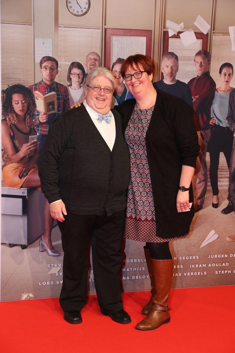 Luc Caals en dochter Nathalie
