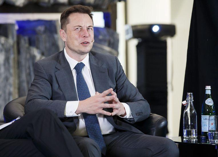 Tesla-eigenaar Elon Musk. Beeld epa