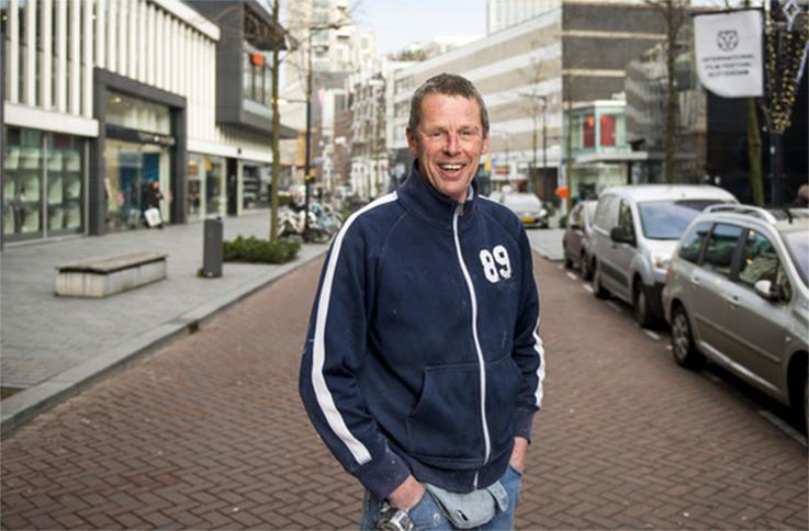 Joost Melman (58) uit IJmuiden