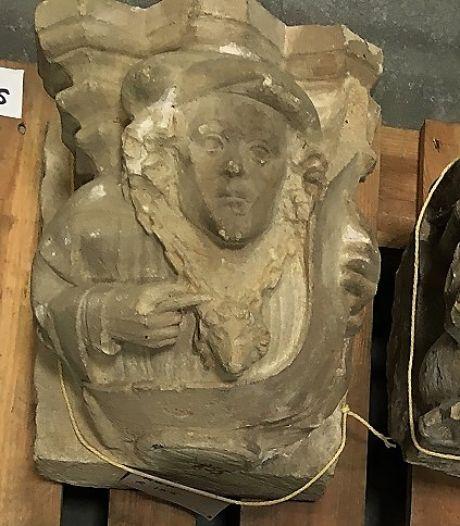 Brokstukken opgeblazen Martinuskerk keren als museumstukken terug in Kerkdriel