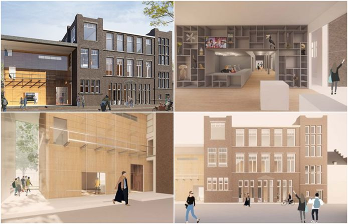 Sfeerimpressies van het nieuwe Universiteitsmuseum in Utrecht.