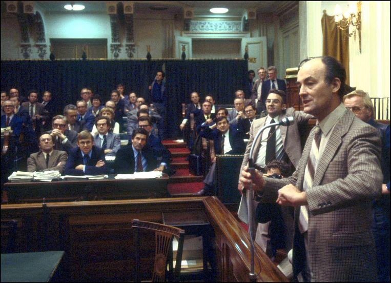 Aantjes in de Tweede Kamer in 1978 Beeld anp