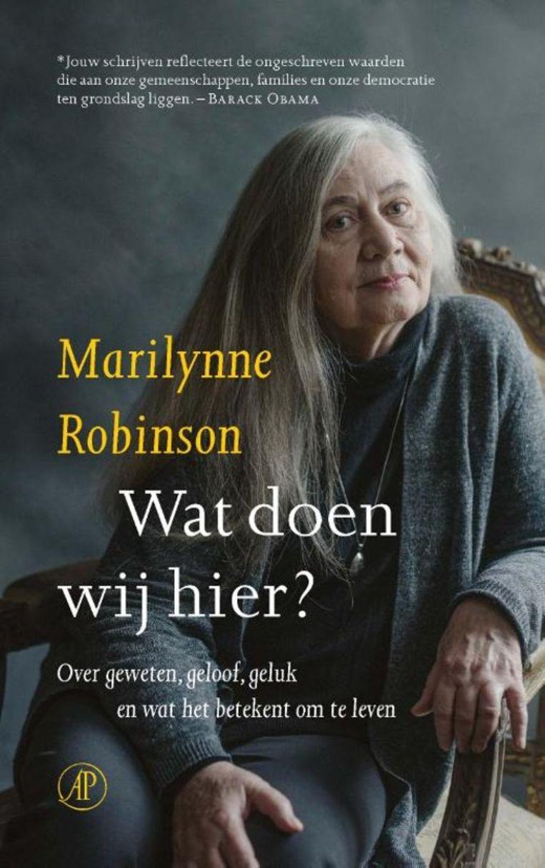 Cover van het boek Wat doen wij hier?  Beeld -