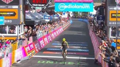 Bekijk hier de laatste kilometer van de 19de Giro-rit