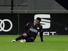 Denzel Dumfries denkt zondag met PSV tegen Feyenoord te kunnen spelen: 'Het was vooral de schrik'