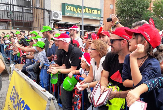 De laatste etappe van de Vuelta 2019 in het Spaanse Fuenlabrada. In 2020 start de Vuelta in Utrecht, Den Bosch en Breda. Toeschouwers.