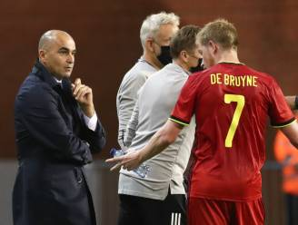 Martínez ziet met lede ogen aan hoe nu ook De Bruyne afhaakt: middenvelder is niet fit genoeg om te spelen