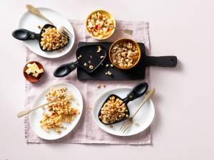 Wat Eten We Vandaag: Apple crumble in een gourmetpannetje