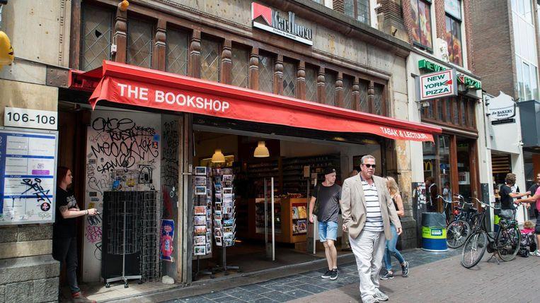 In het pand van The Bookshop zit nu een AH To Go. Beeld Charlotte Odijk