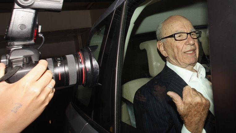 Mediamagnaat Rupert Murdoch. Beeld getty